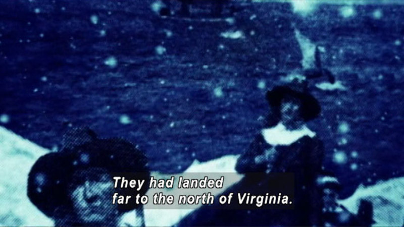 Still image from: Drive Thru History: The Pilgrims of New England