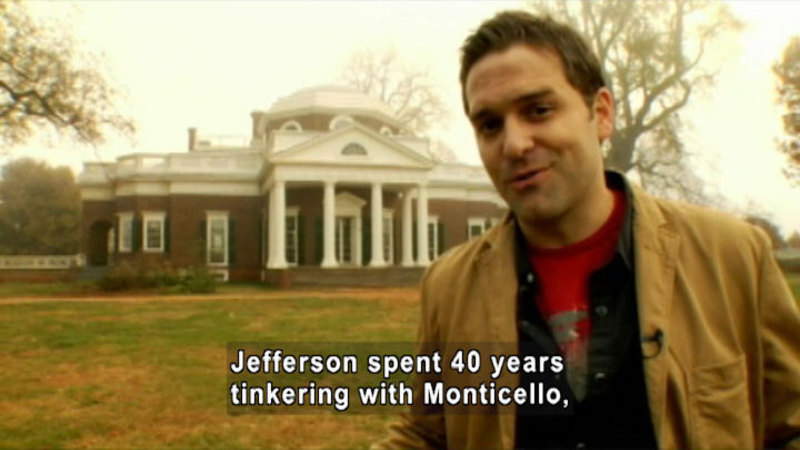 Still image from: Drive Thru History: Virginia's Founding Fathers: Washington, Jefferson & Madison