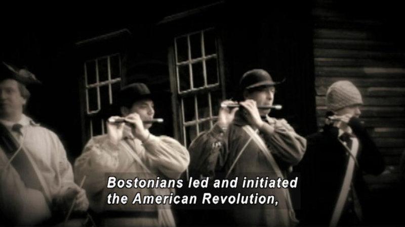 Still image from: Drive Thru History: Boston & the Beginnings of the Revolution