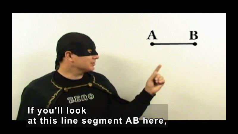 Still image from: Zero the Math Hero: Segments, Rays & Angles