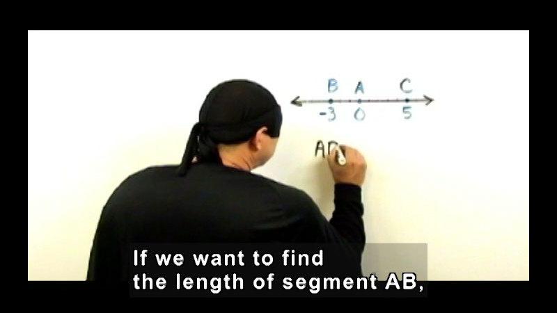 Still image from: Zero the Math Hero: Segment Postulates & Angle Postulates