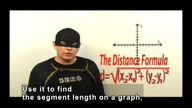 Still image from: Zero the Math Hero: Coordinate Plane