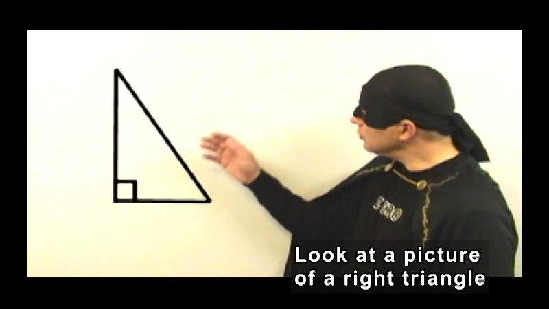 Still image from: Zero the Math Hero: Pythagorean Theorem