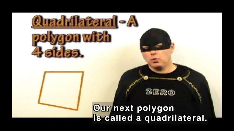 Still image from: Zero the Math Hero: Polygons & Quadrilaterals