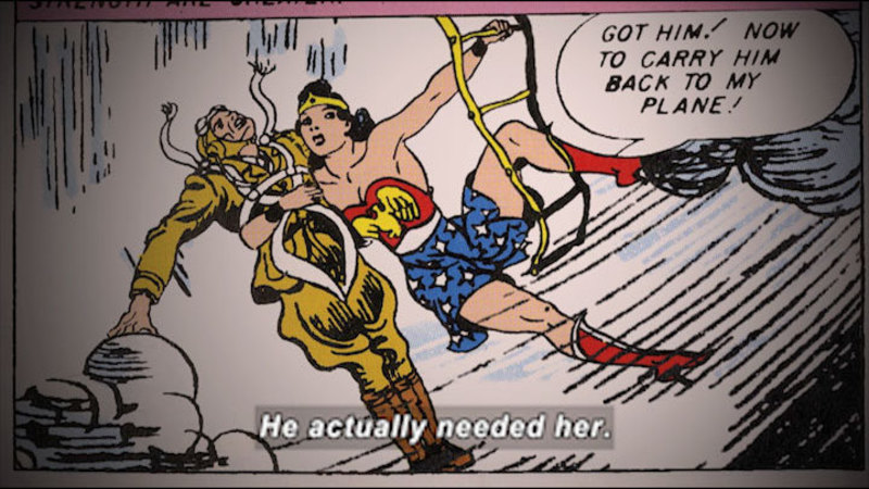 Still image from: Wonder Women! The Untold Story of American Superheroines