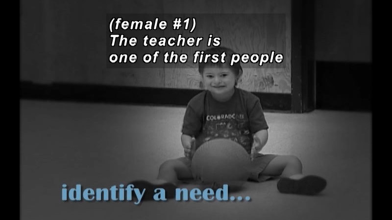 Still image from: Inclusion, IEP & Special Needs Laws