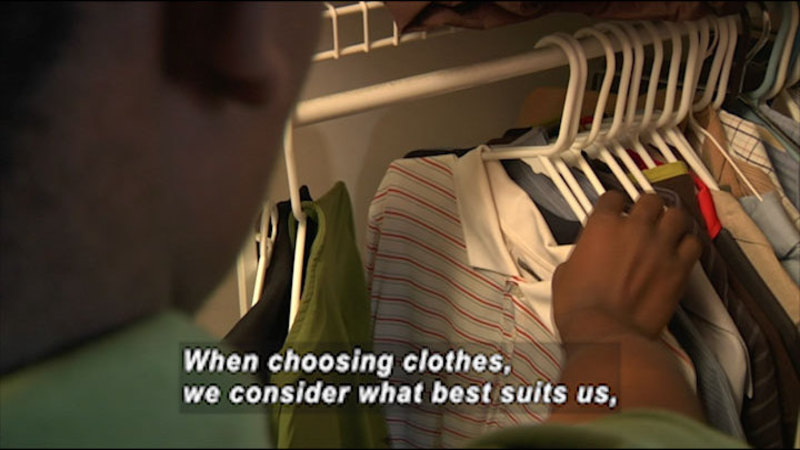 Still image from: Why We Wear Clothes