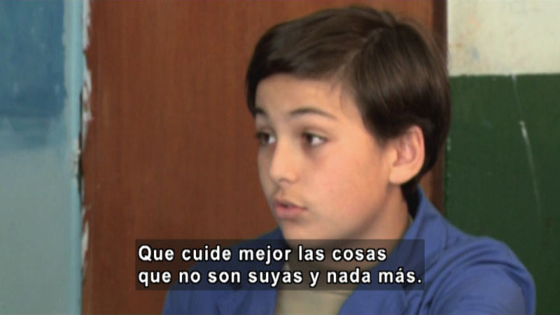 Still image from S.O.S. Interveners: Lending (Spanish)