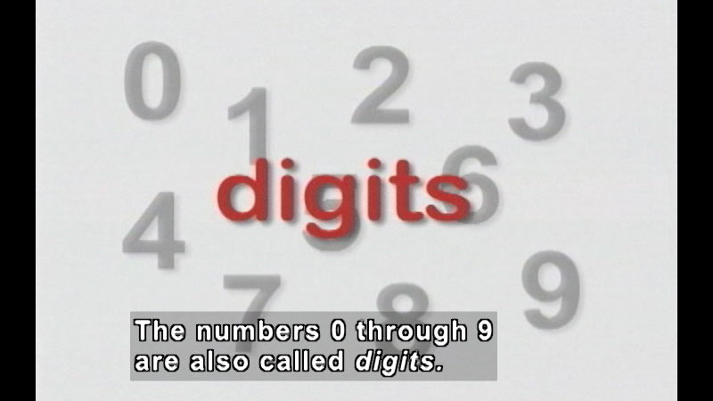Still image from: Numbers