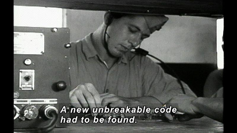 Still image from: War Code: Navajo