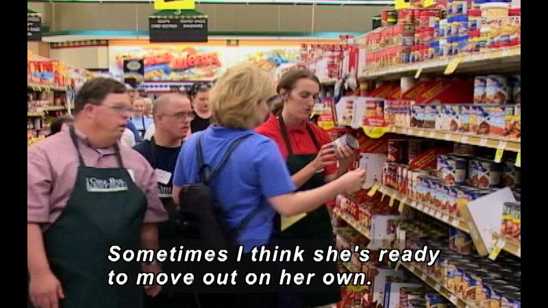 Still image from: The Gillian Film