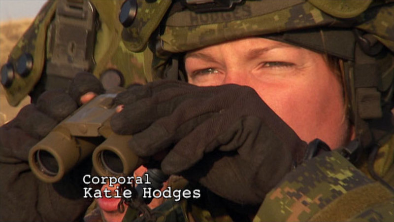 Still image from: Sisters in Arms