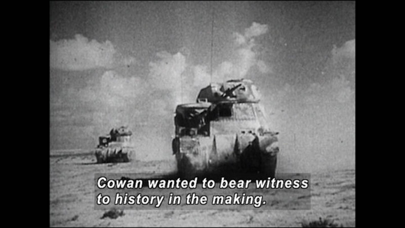 Still image from: No Job for a Woman: The Women Who Fought to Report WWII