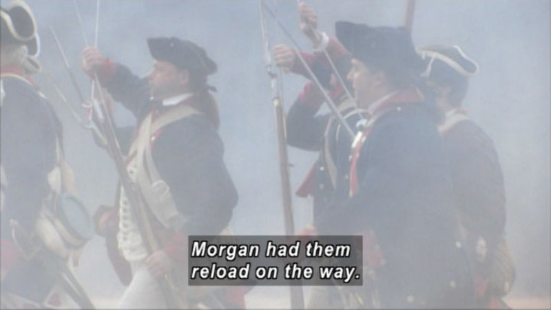 Still image from: Cowpens: A Battle Remembered