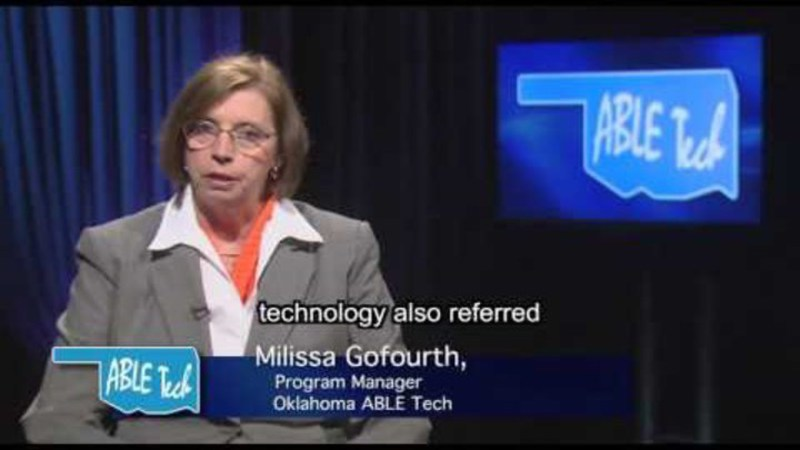 Still image from: Individuals With Disabilities Education Act, Assistive Technology, and Funding