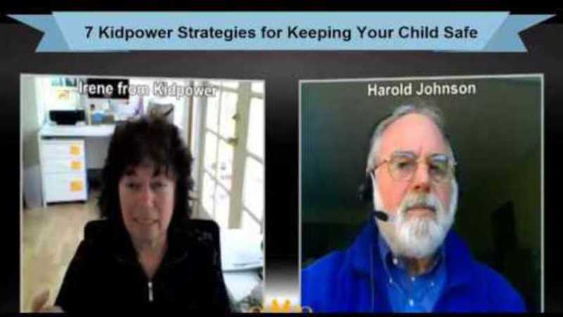 Still image from: Introduction: 7 Kidpower Strategies for Keeping Your Child Safe