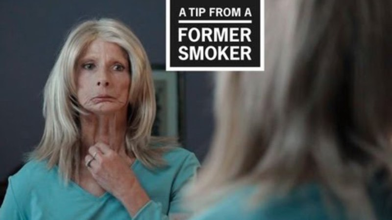 Still image from: CDC: Tips From Former Smokers - Terrie's Ad