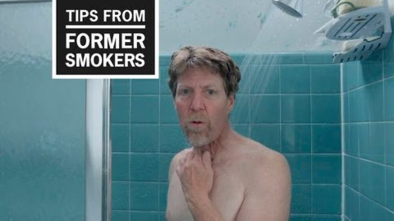 Still image from: CDC: Tips From Former Smokers - Anthem Ad