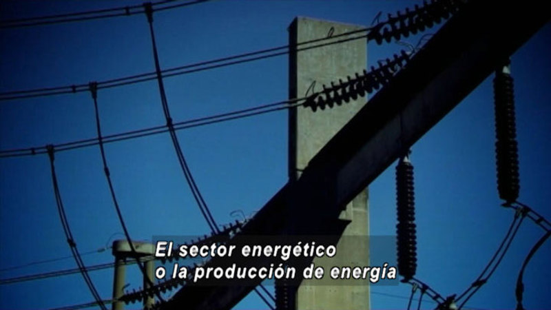 Still image from How Can We Reduce Our Emissions of Greenhouse Gases And Adapt To Climate Change (Spanish)