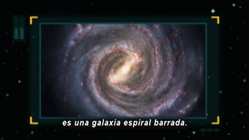 Still image from Around The Universe: Milky Way (Spanish)