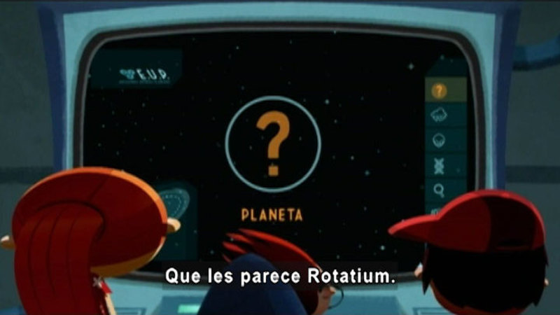 Still image from Around the Universe: Rotatium (Spanish)