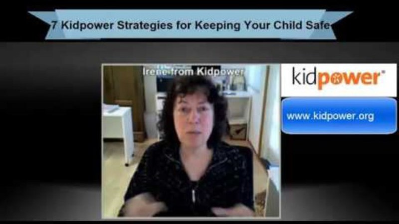 Still image from: Summary: 7 Kidpower Strategies for Keeping Your Child Safe