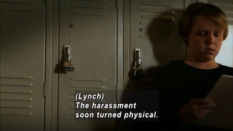 Still image from: Bullied