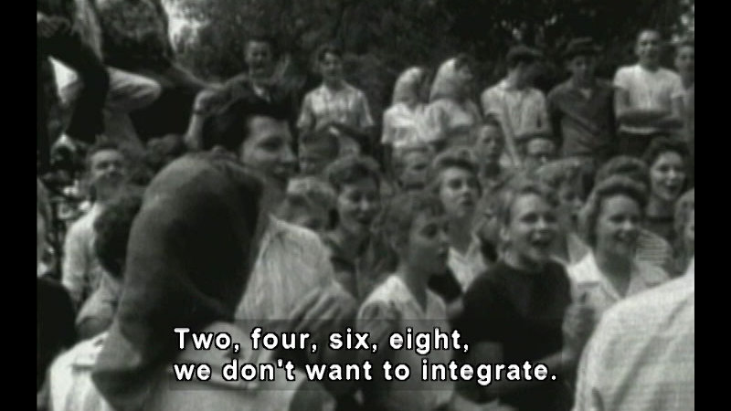 Still image from: Mighty Times: The Children's March