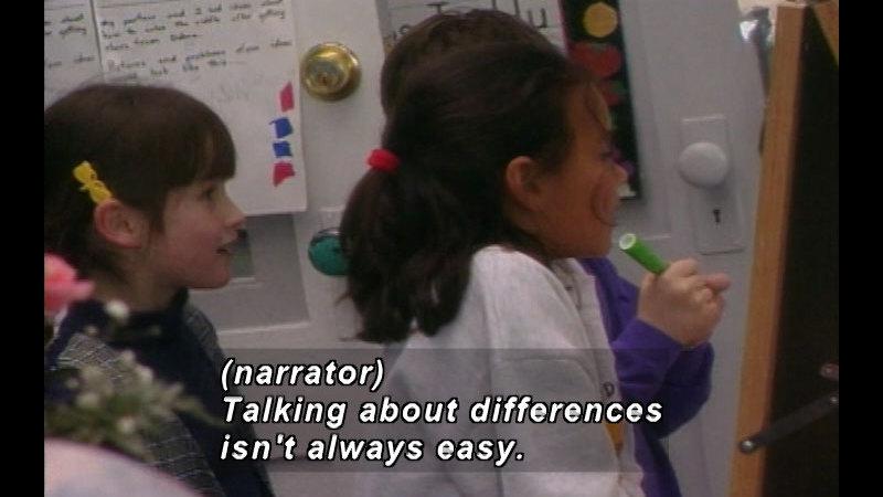 Still image from: Starting Small: Teaching Children Tolerance