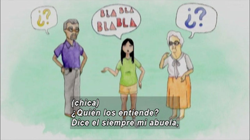 Still image from: And Now What: Emotional Changes (Spanish)