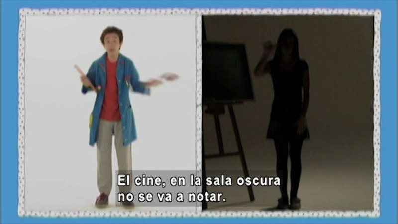 Still image from: And Now What: Self-Esteem and Confidence (Spanish)