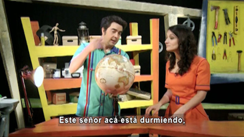 Still image from The House of Science: Yeast and Time Zones (Spanish)