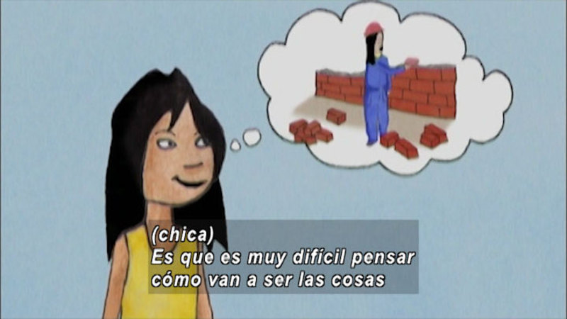 Still image from And Now What: What Would We Like To Do When We Grow Up (Spanish)