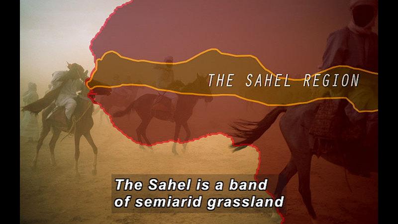 Still image from Wild Chronicles: The Sahel Region
