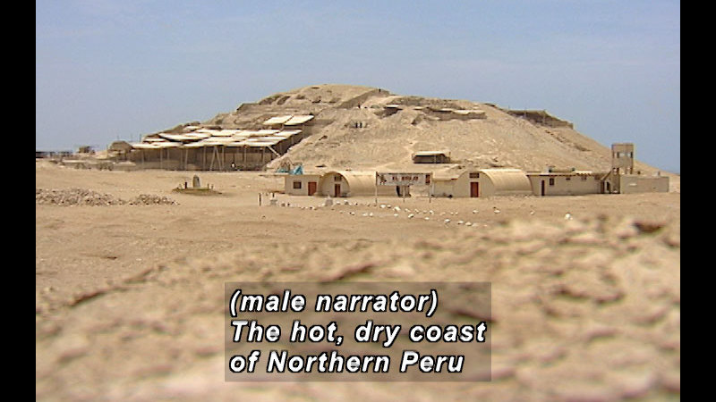 Still image from Wild Chronicles: Pyramids in Peru