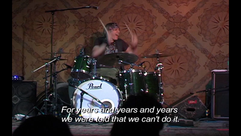 Still image from: See What I'm Saying: The Deaf Entertainers Documentary