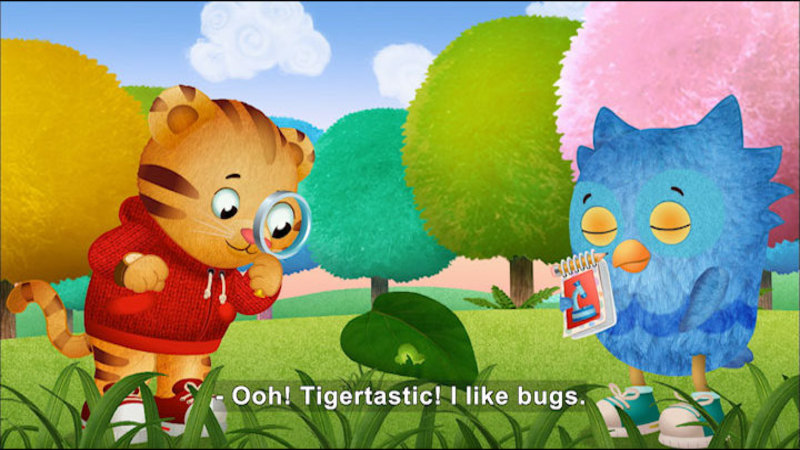 Still image from Daniel Tiger's Neighborhood: Daniel Is Jealous And Jealousy At The Treehouse