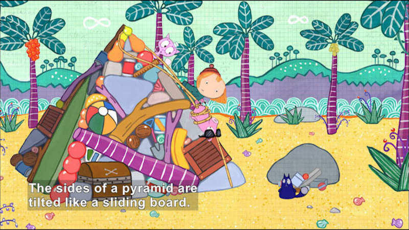 Still image from Peg + Cat: The Roxanne Problem And The Girl Group Problem