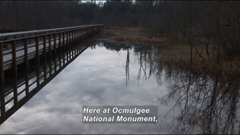Still image from: Ocmulgee National Monument