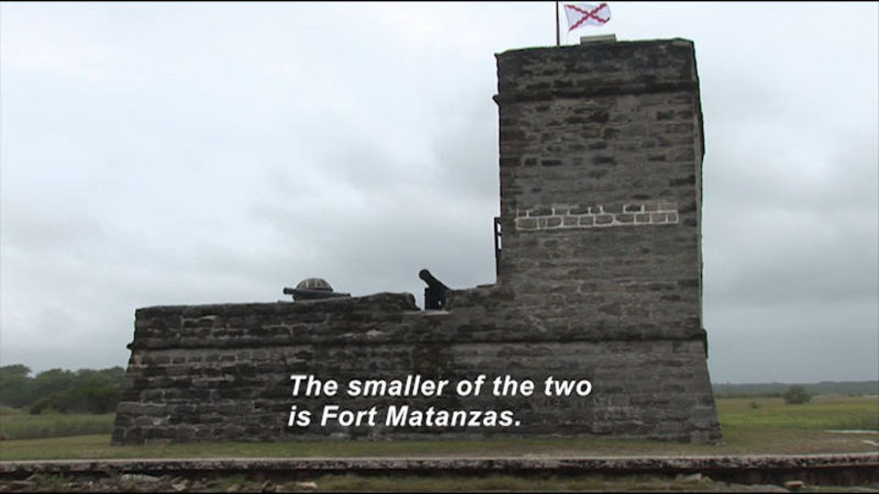 Still image from: Fort Matanzas and Castillo De San Marcos National Monuments