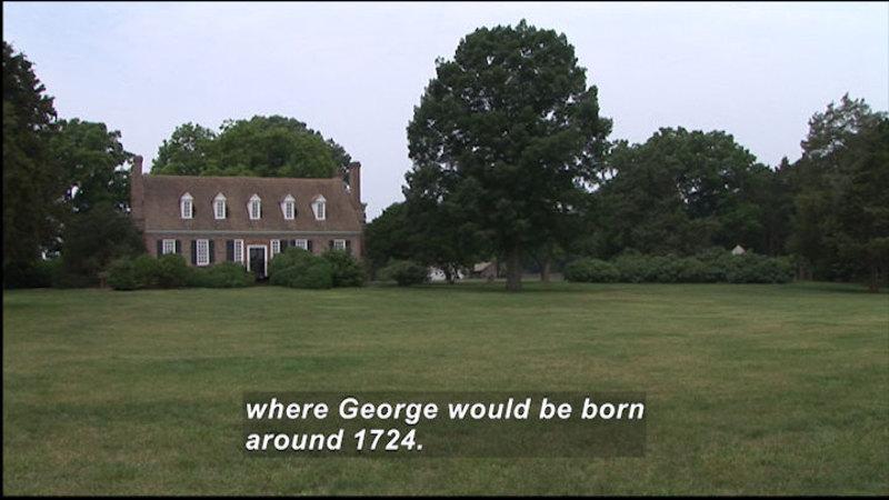 Still image from: George Washington Birthplace National Monument