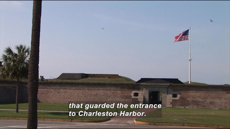 Still image from: Fort Sumter National Monument