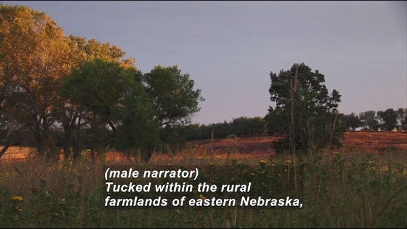 Still image from: Homestead National Monument