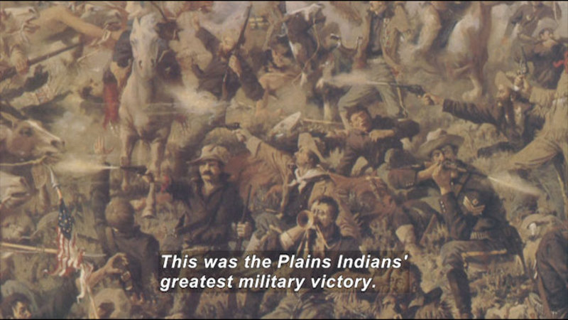 Still image from: Little Bighorn National Monument
