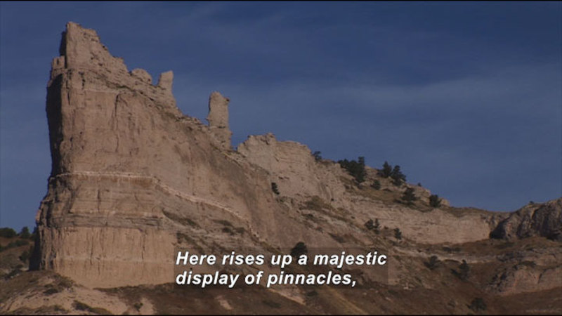 Still image from: Scotts Bluff National Monument