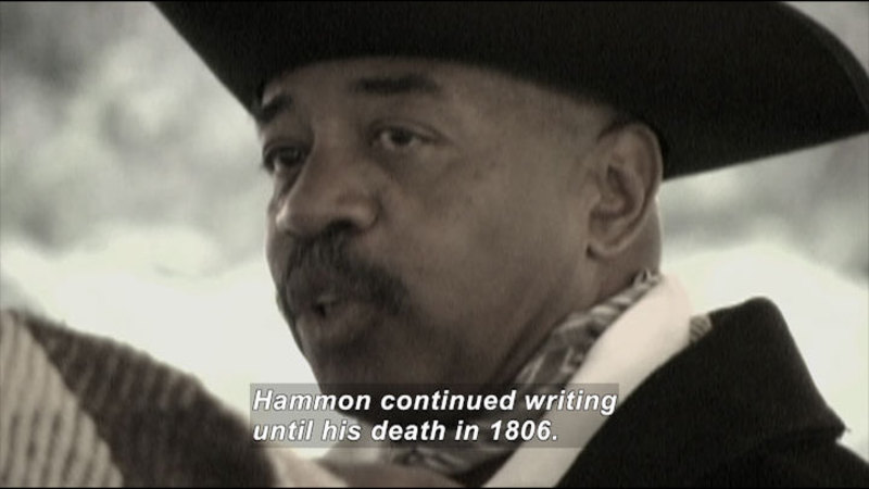 Still image from: Great African American Authors: Program 1: 1761 - 1901