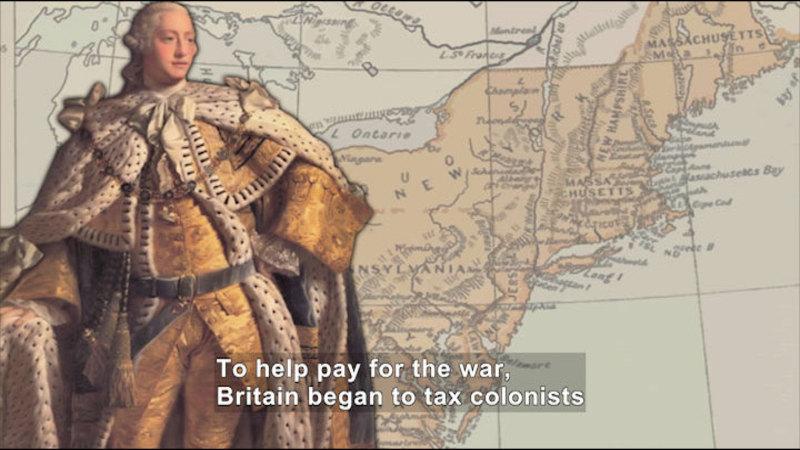 Still image from: Social Studies Video Vocab: American Revolution