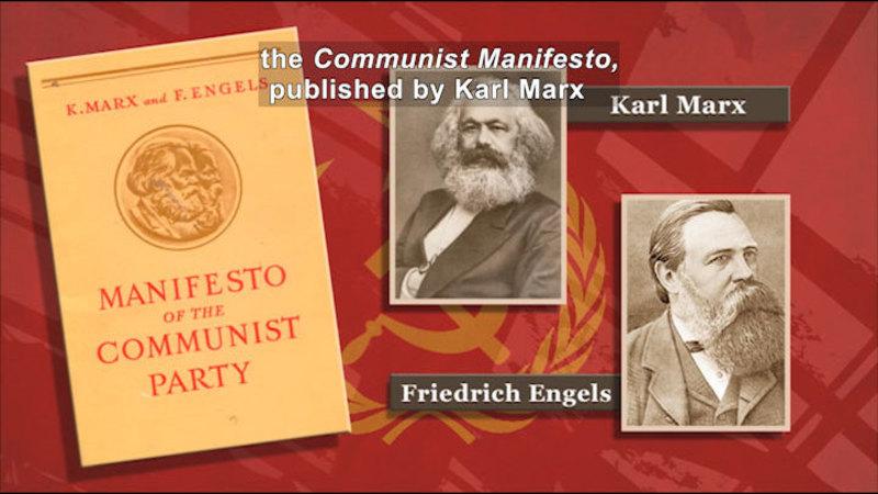 Still image from: Social Studies Video Vocab: Communism