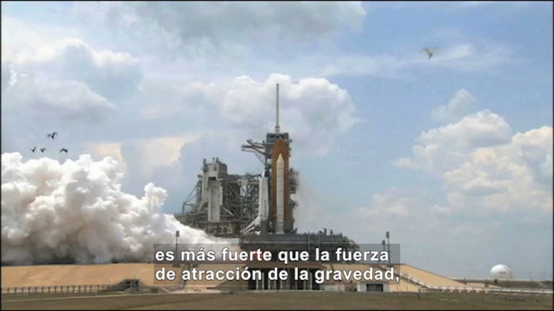 Still image from Science Video Vocab: Unbalanced Force (Spanish)