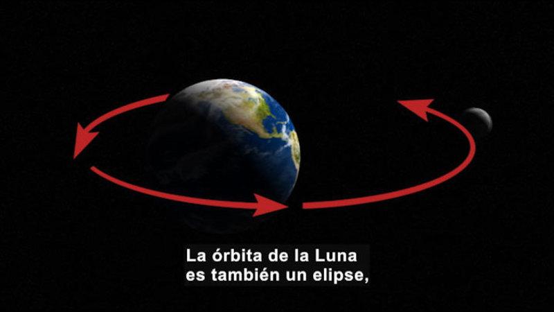 Still image from Science Video Vocab: Ellipse (Spanish)